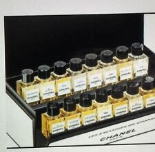 LES EXCLUSIFS DE CHANEL DISCOVERY SET Ltd Edition+15 Body Fresh Cream 0.12 oz Ea