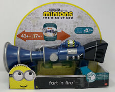 Minions The Rise of Gru Fart 'n' Fire Fart Blaster with Sound and Scent
