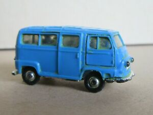 145R NOREV France Micro Renault Microcar Courier Glazed Blue 1:86