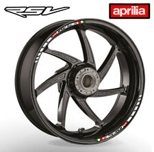 APRILIA RSV MIILLE Stripewheel rim stickers decals - choice of 20 colours - rr