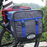 Waterproof Electric Bike Rear Rack Saddle Bag 36-50L Heavy Duty Bicycle Storage