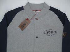 Steve McQueen VNTG Race Baseball Button Jacket BARBOUR INTERNATIONAL Grey 3XL 64