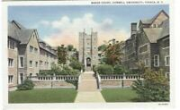 Postcard of Baker Court Cornell University Ithaca NY New York