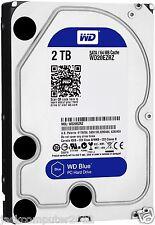 """WD Caviar Blue 2 TB 64MB 3.5"""" PC Desktop Internal (WD20EZRZ) Hard Drive HDD 2TB"""