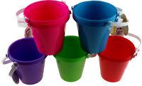 Beach Buckets And Spades - Rainbow Of Colours - Whole Sale Bulk Buy Quantities
