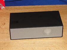Viatek Deluxe Touchplay Induction Speaker with Alarm Clock BLACK  NEW