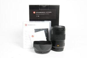 Leica 11184 APO Summicron-SL 35mm f2 ASPH Lens #433