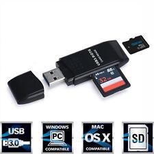 MINI 5Gbps Super Speed USB 3.0 Micro SD/SDXC TF Card Reader Adapter Black Friday