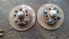 1979 Datsun 210 Brake Rotor Front Left and Right