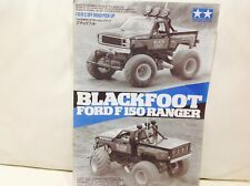 TAMIYA ORIGINAL RC MANUAL 1/10 BLACKFOOT FORD F150 RANGER   Item No. 5858