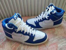 Nike Dunk High Varsity Blue 2010 Size 9 Rare Vintage Excellent Condition