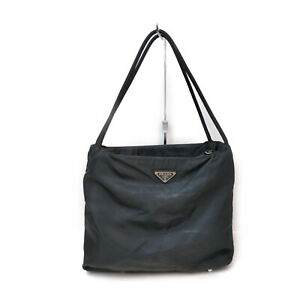 Prada Shoulder Bag  Black Nylon 2206990