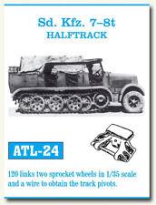 Friulmodel ATL-24 Metal Tracks for 1/35 German SdKfz.7 8t Halftrack (120 links)