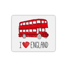 Tapis de souris rectangle i love london bus
