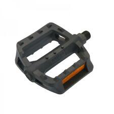 Wellgo 984 Plastic BMX Platform Pedals 9/16 Black PD02