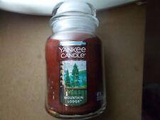 Yankee Candle Usa Rare Mountain Lodge Large Jar