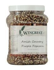 Purple Amish Country Popcorn - 4 Lb Tub (NO G.M.O.'s) :: Free Expedited Shipping