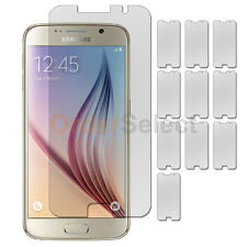 10X NEW Ultra Clear HD LCD Screen Protector for Android Phone Samsung Galaxy S6
