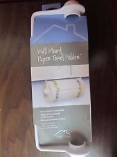 Spectrum #40200, Wall Mount Paper Towel Holder, White New