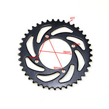 420 41T Rear Chain Sprocket Cog for Motorbike Dirt Thumpstar Bike 76mm AU Stock