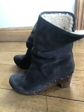 Ugg Lynnea Clog Boots Grey - UK 7.5
