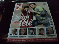 """TELE 7 JOURS H.S."" Jacques MARTIN, Daniele GILBERT, Thierry LE LURON, ..."