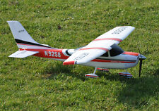Art Tech Cessna 182 EPO 400 Class RC Radiocommandée avion Rouge (RTF) NOUVEAU UK