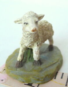 Grandeur Noel Bethlehem Village Nativity Little Lamb Sheep figurine 2001