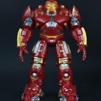 Avengers Armor Iron Man Hulkbuster Action Figure Joints Movable Mark44 Light Toy