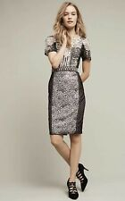 NEW $298 Byron Lars Melange Lace Pencil Dress Size 2