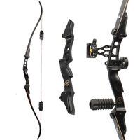 "60"" ILF Recurve Bow 17"" Riser 20-50lbs Limbs Sight Stabilizer Archery Hunting"