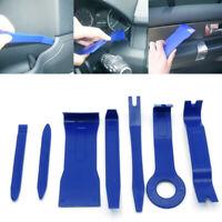 7Pcs Plastic Car Audio GPS Radio Door Clip Panel Open Removal Tool Accessories