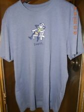 LIFE IS GOOD..SIMPLIFY  JAKE TEE,  BLUE, LARGE  NEW