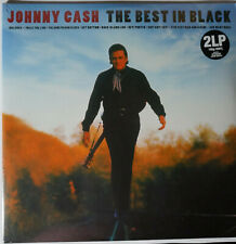 Johnny Cash - The Best in Black 2LP 180g vinyl in gatefold sleeve NEU/SEALED