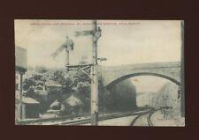 Gloucestershire BRISLINGTON St Anne's Park Railway Station used 1904 PPC
