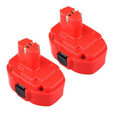 2PCS 18 VOLT 18V 3000mAh BATTERY FOR MAKITA 1833 1834 1835 18V NI-MH 3.0AH
