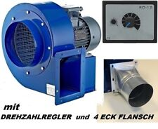 Radialventilator + Regler Industrieventilator Abluftventilator Ventilator 1850m³