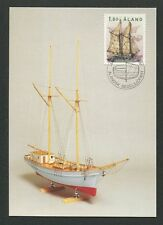 ALAND MK 1988 SCHIFFE SEGELSCHIFF SHIP MAXIMUMKARTE MAXIMUM CARD MC CM d7475