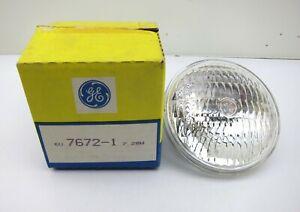 NEW GE Lighting 7672-1 Emergency Sealed Beam Lamp Bulb 7.2W 6 Volt PAR36 350 MBC