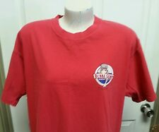 Bubba Gump Mens T Shirt Large Shrimp Co Chicago Red Distressed