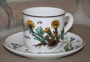 Villeroy & Boch V&B Botanica Kaffeetasse mit Unterteller/Untertasse Tasse