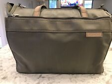 Briggs and Riley Travelware Laptop and Travel Tote Perfect Condition Used Once