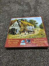 DELIVERING THE MILK BY KEVIN WALSH - Unopened but damaged seal - SUNSOUT PUZZLE