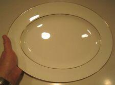 "WEDGWOOD GLOUCESTER W3988 - 15 1/4"" Oval Serving Platter - Bone China England"