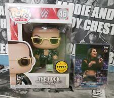 Funko Pop! Wwe The Rock Chase 46 & Zelina Vega Rookie Card