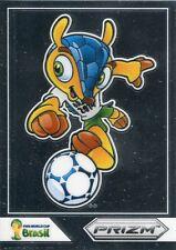 Panini Prizm Copa del Mundo 2014 Fuleco Mascota #1 Fuleco