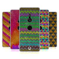 HEAD CASE DESIGNS GLITTERING PATTERNS SOFT GEL CASE FOR SONY PHONES 1