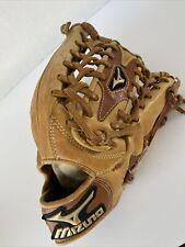 """New listing Mizuno Global Elite Baseball Glove GGE71 12.75"""" RHT pre-owned NICE!"""