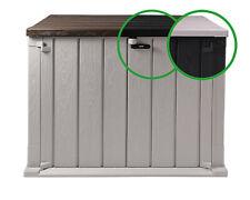 Mülltonnenbox Geräteschuppen Storer Light 842 Liter Gartenschuppen abschließbar