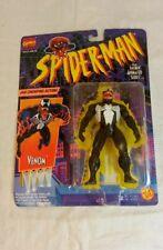 Marvel Venom Jaw Chomping Action Figure Animated Series 1994 ToyBiz New Sealed